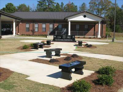 City of Sumiton, Alabama Black Granite Veterans Memorial