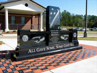 City of Sumiton, Alabama Veterans Memorial